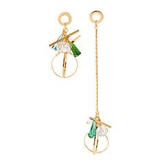 preiswerte Ohrringe-Damen Nicht übereinstimmend Tropfen-Ohrringe - Koreanisch, Modisch, Elegant Golden Für Party Geburtstag