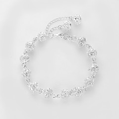 preiswerte Armbänder-Damen Glasperlen Strang-Armbänder - Kugel Retro, Elegant Armbänder Silber Für Festtage Arbeit