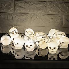 お買い得  LED ストリングライト-HKV 3M ストリングライト 16 LED ホワイト クリエイティブ / パーティー / 装飾用 単3乾電池 1個