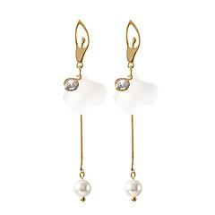 preiswerte Ohrringe-Damen Schick Tropfen-Ohrringe - Blume Koreanisch, Süß, Elegant Golden Für Normal Alltag