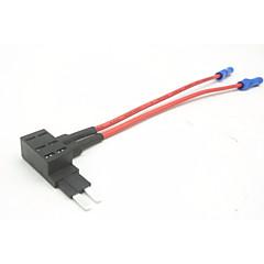 Недорогие Автоэлектроника-держатель плавкого предохранителя вставки для автомобиля / зарядное устройство для вставки плавкого предохранителя / 2-контактный мини-предохранитель 3