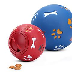 お買い得  猫用おもちゃ-ボール型 ペットフレンドリー / 食べ物 / 弾性ある ゴム 用途 犬用 / 猫用