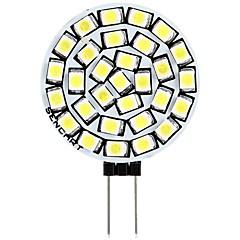 お買い得  LED 電球-SENCART 1個 3 W 180 lm G4 LED2本ピン電球 T 30 LEDビーズ SMD 2835 装飾用 温白色 / ホワイト 12 V