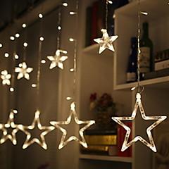 お買い得  LED ストリングライト-2.5m ストリングライト 138 LED 温白色 装飾用 220-240 V 1セット