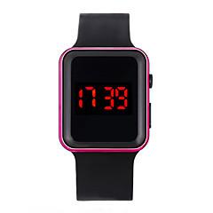 お買い得  メンズ腕時計-男性用 デジタルウォッチ デジタル ブラック 30 m 耐水 LCD デジタル カジュアル ファッション - フクシャ ブルー ローズゴールド