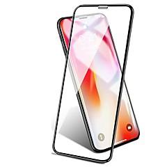 Недорогие Защитные пленки для iPhone X-Защитная плёнка для экрана для Apple iPhone XS / iPhone XR / iPhone XS Max Закаленное стекло 1 ед. Защитная пленка для экрана Уровень защиты 9H / Защита от царапин / 3D закругленные углы
