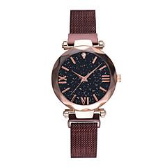 preiswerte Damenuhren-Damen Armbanduhr Quartz Schwarz / Blau / Rot 30 m Wasserdicht Imitation Diamant Analog damas Modisch Elegant - Blau Dunkelrot Rotgold