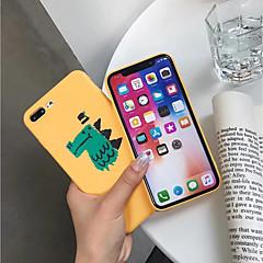 Недорогие Кейсы для iPhone 6 Plus-Кейс для Назначение Apple iPhone XR / iPhone XS Max Матовое / С узором Кейс на заднюю панель Мультипликация Мягкий ТПУ для iPhone XS / iPhone XR / iPhone XS Max