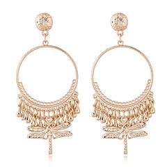 preiswerte Ohrringe-Damen Quaste Tropfen-Ohrringe - Libelle Einfach, Europäisch, Modisch Gold / Silber Für Normal Alltag