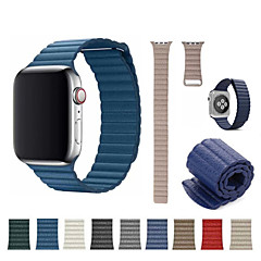 abordables Correas para Apple Watch-Ver Banda para Apple Watch Series 4/3/2/1 Apple Correa Deportiva Cuero Auténtico Correa de Muñeca