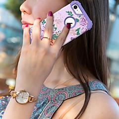 Недорогие Кейсы для iPhone-BENTOBEN Кейс для Назначение Apple iPhone 8 / iPhone 7 Защита от удара Чехол Пейзаж / Фрукты / Цветы Твердый Силикон / ПК для iPhone 8 / iPhone 7