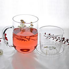 abordables Utensilios y Vasos para Café y Té-Vasos Vaso de boro alto Vidrio Adorable 1 pcs