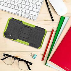 Недорогие Кейсы для iPhone-Кейс для Назначение Apple iPhone XR со стендом Кейс на заднюю панель броня Твердый ПК для iPhone XR