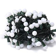 preiswerte LED Lichtstreifen-6m Leuchtgirlanden 120 LEDs Weiß Dekorativ 220-240 V 1 set