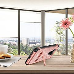 Недорогие Чехлы и кейсы для LG-BENTOBEN Кейс для Назначение LG G6 Защита от удара / со стендом / Покрытие Кейс на заднюю панель Сияние и блеск Твердый Кожа PU / ТПУ / ПК для LG G6 / LG G5