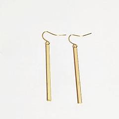 preiswerte Ohrringe-Damen Klassisch Tropfen-Ohrringe - Einfach, Grundlegend, Europäisch Gold / Silber Für Normal Alltag