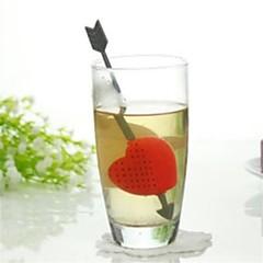 abordables Accesorios para té-El plastico Bonito 1pc Colador de té