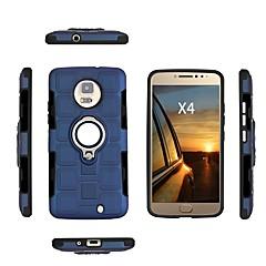 Недорогие Чехлы и кейсы для Motorola-Кейс для Назначение Motorola E4 Plus / E4 Защита от удара / Защита от пыли / Защита от влаги Кейс на заднюю панель Однотонный Мягкий ТПУ для Moto X4 / Moto E4 Plus / Moto E4