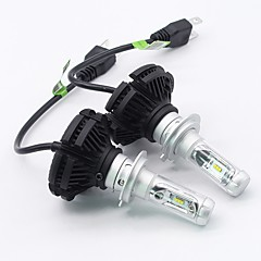 cheap Car Headlights-SO.K 2pcs H7 / H4 / H3 Car Light Bulbs 25 W Integrated LED 6000 lm 6 LED Fog Light / Headlamp For All years
