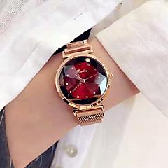 preiswerte Damenuhren-Damen Kleideruhr Armbanduhr Quartz Rotgold Neues Design Armbanduhren für den Alltag Analog damas Elegant Minimalistisch - Blau Dunkelrot Khaki