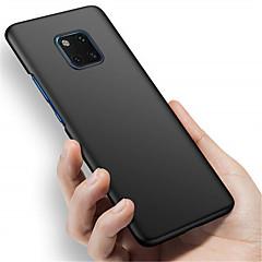 Недорогие Чехлы и кейсы для Huawei Mate-Кейс для Назначение Huawei Huawei Mate 20 Pro / Huawei Mate 20 Матовое Кейс на заднюю панель Однотонный Твердый ПК для Mate 10 / Mate 10 pro / Mate 10 lite / Mate 9 Pro