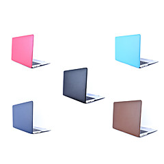"""abordables Accesorios para Mac-MacBook Funda Un Color Cuero de PU / piel genuina / CLORURO DE POLIVINILO para Nuevo MacBook Pro 15"""" / Nuevo MacBook Pro 13"""" / MacBook Pro 15 Pulgadas"""