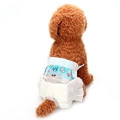 お買い得  犬用ウェア&アクセサリー-犬用 ヘルスケア / パンツ / クリーニング 犬用ウェア ソリッド ホワイト コットン混 / 不織の コスチューム ペット用 男女兼用 動物 / 普通
