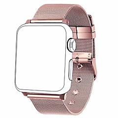 お買い得  メンズ腕時計-ステンレス 時計バンド ストラップ のために Apple Watch Series 4/3/2/1 ブラック / シルバー / レッド 23センチメートル / 9インチ 2.1cm / 0.83 Inch
