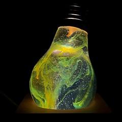 お買い得  LED 電球-E.P.LIGHT 1個 3 W 160/ E26 / E27 LEDボール型電球 A60(A19) 1 LEDビーズ ハイパワーLED クリエイティブ / パーティー / 装飾用 温白色 90-240 V