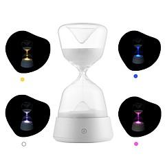 お買い得  LED アイデアライト-brelong創造的なusb充電砂時計の夜の光と1つの砂時計
