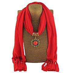 preiswerte Halsketten-Damen Lang Schal Halskette - Erklärung, Böhmische, Süß Niedlich Rose Rot, Rot, Blau 180 cm Modische Halsketten Schmuck 1pc Für Geschenk, Verabredung
