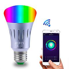 お買い得  LED 電球-1個 6 W 480 lm E26 / E27 LEDボール型電球 23 LEDビーズ SMD 5730 Smart / APPコントロール / 計時 マルチカラー 85-265 V
