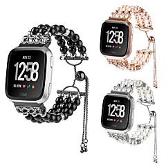 abordables Correas para Reloj-Legierung Ver Banda Correa para Apple Watch Series 4/3/2/1 Negro / Blanco / Rosa 23cm / 9 pulgadas 2.1cm / 0.83 Pulgadas