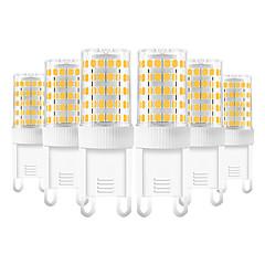 お買い得  LED 電球-YWXLIGHT® 6本 10 W 600-800 lm G9 LED2本ピン電球 T 86 LEDビーズ SMD 2835 温白色 / クールホワイト / ナチュラルホワイト 220-240 V