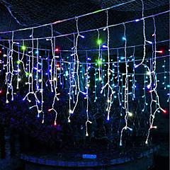 お買い得  LED ストリングライト-BRELONG® 6m ストリングライト 600 LED 温白色 / RGB / ホワイト 防水 / パーティー / 装飾用 110-120 V 1個