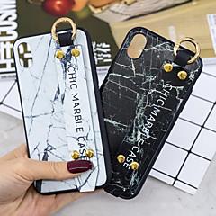 Недорогие Кейсы для iPhone 7-Кейс для Назначение Apple iPhone XR / iPhone XS Max со стендом Кейс на заднюю панель Мрамор Мягкий ТПУ для iPhone XS / iPhone XR / iPhone XS Max