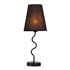 abordables Lámpara de Mesa-Contemporáneo moderno Creativo / Encantador Lámpara de Mesa / Lámpara de Escritorio Para Dormitorio / Interior Metal 110-120V / 220-240V Blanco / Negro