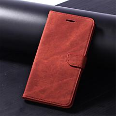 levne Pouzdra iPhone 7 Plus-Carcasă Pro Apple iPhone XR / iPhone XS Max Peněženka / Pouzdro na karty / se stojánkem Celý kryt Jednobarevné Pevné PU kůže pro iPhone XS / iPhone XR / iPhone XS Max