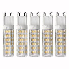 preiswerte LED-Birnen-5 Stück 4.5 W 450 lm G9 LED Mais-Birnen T 76 LED-Perlen SMD 2835 Abblendbar Warmes Weiß / Kühles Weiß 220 V