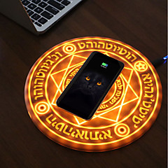 tanie Ładowarki-magiczna tablica magiczne koło bezprzewodowa ładowarka do telefonu 5v / 2a dla iphone xs max / xr / xs / x / 8/8 plus, pixel 3 / 3xl, samsung galaxy note 9 / s9 / s9 plus i więcej