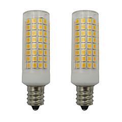 abordables LED e Iluminación-2pcs 5 W 460 lm E12 Bombillas LED de Mazorca 102 Cuentas LED SMD 2835 Blanco Cálido / Blanco Fresco 110-130 V