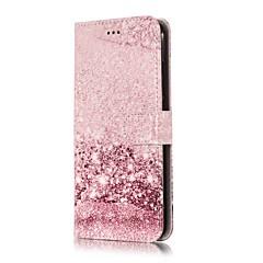 Недорогие Чехлы и кейсы для LG-Кейс для Назначение LG V30 / G7 Кошелек / Бумажник для карт / со стендом Чехол Мрамор Твердый Кожа PU для LG V30 / LG Stylo 4 / LG K10 2018