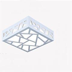 abordables Luces LED de Techo-Montage de Flujo Luz Ambiente Acabados Pintados Madera / Bambú Madera / Bambú LED 90-240V Blanco Cálido / Blanco Fuente de luz LED incluida / LED Integrado