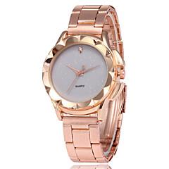 preiswerte Damenuhren-Damen Kleideruhr Armbanduhr Quartz Armbanduhren für den Alltag Legierung Band Analog Modisch Elegant Rotgold - Grau Rot Grün