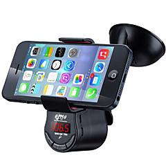 Недорогие Bluetooth гарнитуры для авто-fm09 многофункциональный громкоговоритель автомобильный комплект fm передатчик mp3 аудиоплеер с автомобильным держателем для крепления всасывания для мобильного телефона gps