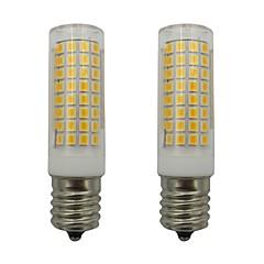 abordables LED e Iluminación-2pcs 5 W 460 lm E17 Bombillas LED de Mazorca 102 Cuentas LED SMD 2835 Blanco Cálido / Blanco Fresco 110-130 V