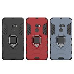 Недорогие Чехлы и кейсы для Xiaomi-Кейс для Назначение Xiaomi Mi Mix 2 Защита от удара / Кольца-держатели Кейс на заднюю панель Однотонный / броня Твердый ПК для Xiaomi Mi Mix 2