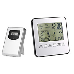 cheap Test, Measure & Inspection Equipment-TS-A92 Wireless Indoor Outdoor Thermometer Hygrometer Digital Weather Station