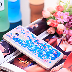 Недорогие Чехлы и кейсы для Xiaomi-Кейс для Назначение Xiaomi Redmi Note 4 Защита от удара / Сияние и блеск Кейс на заднюю панель Сияние и блеск / Цветы Мягкий ТПУ для Xiaomi Redmi Note 4