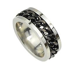 preiswerte Ringe-Damen Tennis Kette Bandring - Geometrisch, Grundlegend 7 Schwarz Für Alltag Verabredung